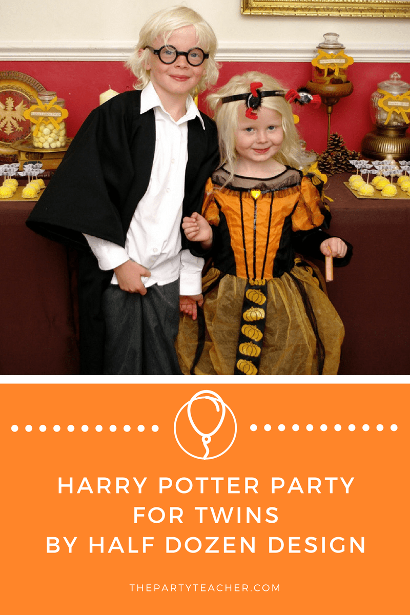 Harry Potter Party for Twins