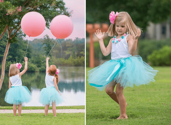 Mermaids Party by Sweet Peach Paperie featured on The Party Teacher - balloons