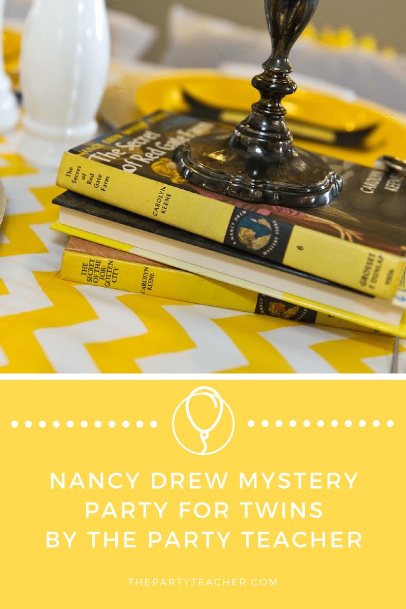 Nancy Drew Mystery Party