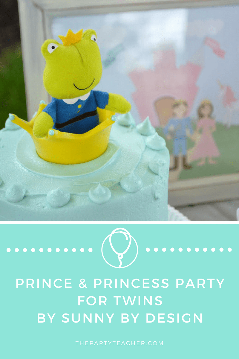 Prince and Princess Party for Twins
