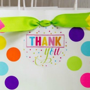 Tutorial: Confetti Party Favor Bags