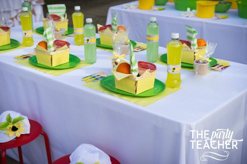 Gardening Party by The Party Teacher - dining table
