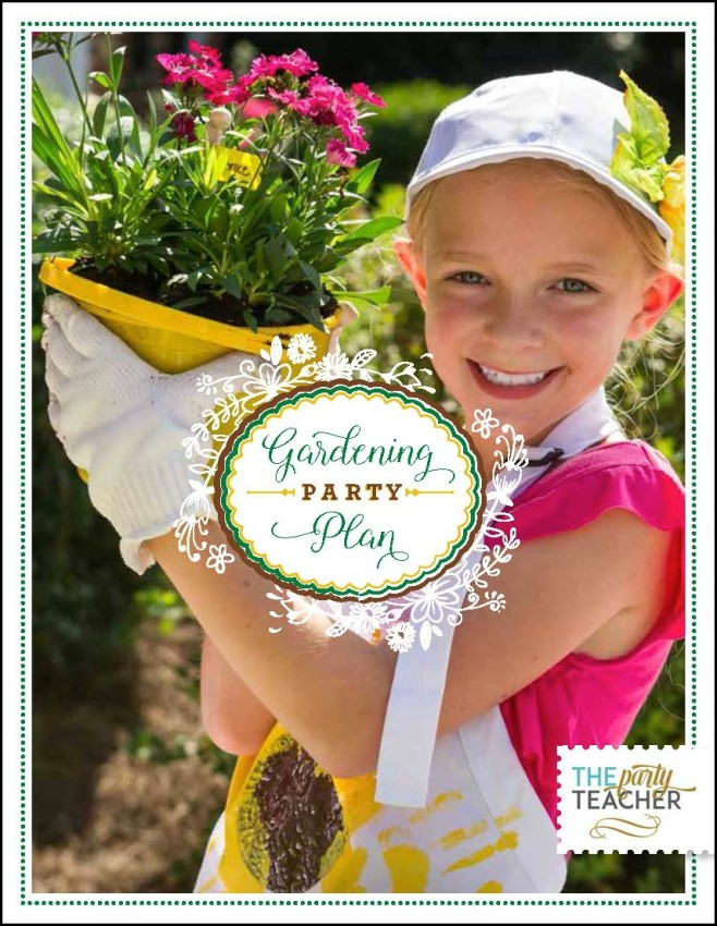 Gardening Party by The Party Teacher-cover 3
