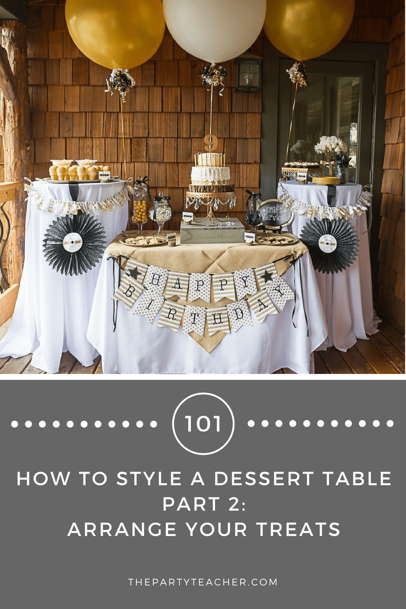 Dessert Tables 101 - Part 2