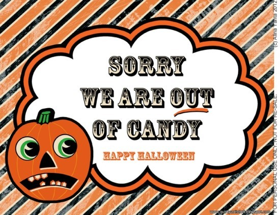 FF Halloween Out of Candy Quirky Artist Loft
