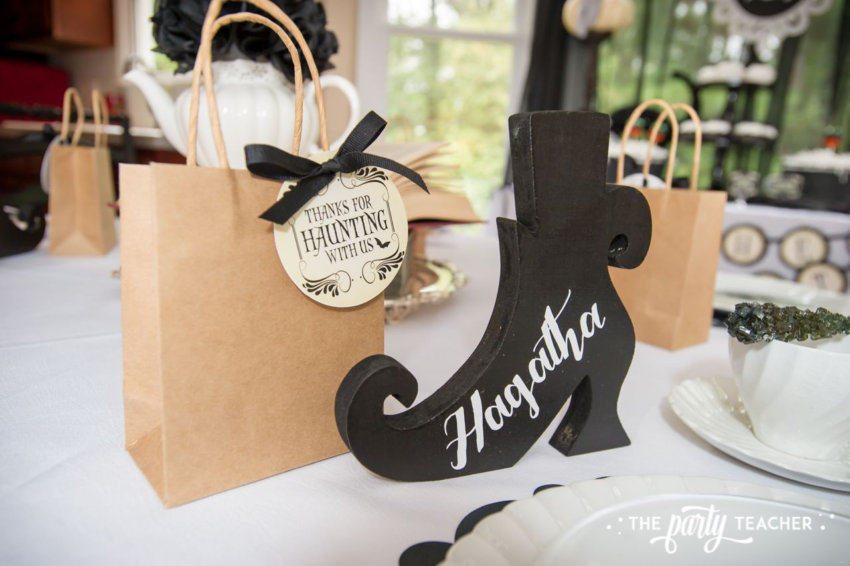 Witch's Tea Party by The Party Teacher-place cards