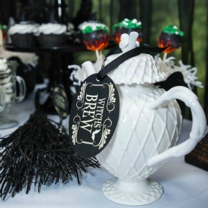How to Host a Witch's Tea Party {Put a Halloween Spin on the Classic Tea Party}