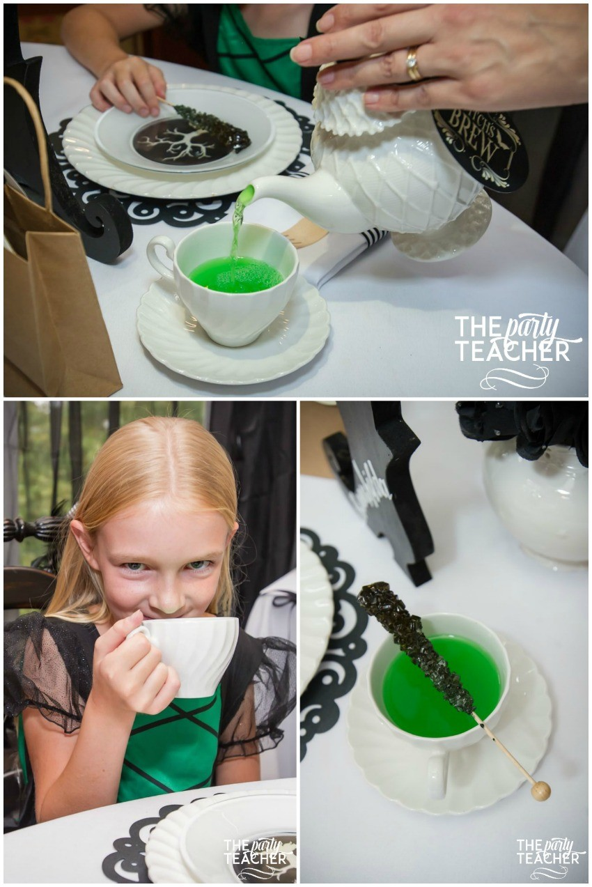 Witch's Tea Party by The Party Teacher-witch's brew