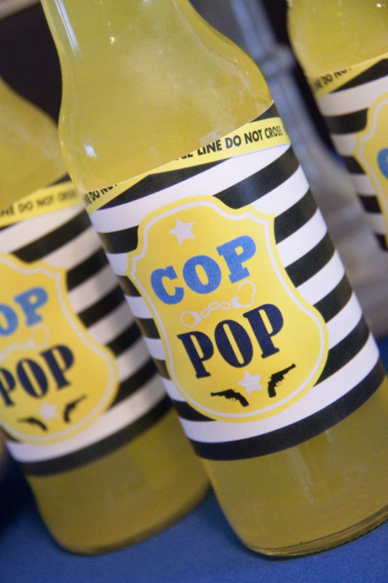 Cop pop - Cops and Robbers Party by Sparkling Sweets Boutique-8