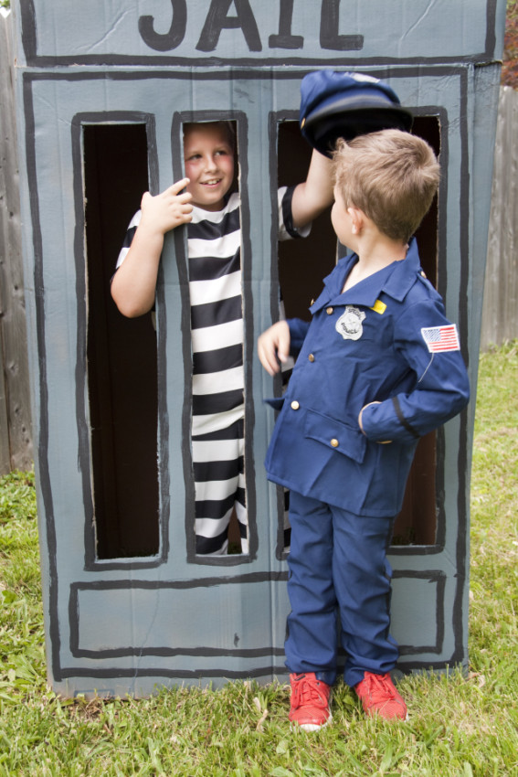 Jail photo booth - Cops and Robbers Party by Sparkling Sweets Boutique-20