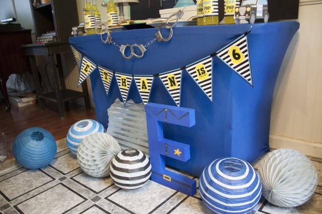 Police dessert table - Cops and Robbers Party by Sparkling Sweets Boutique-6