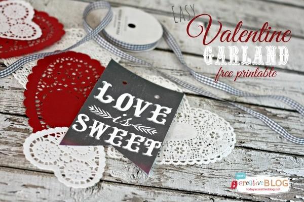 FF Olive Rue Valentines Day Banner