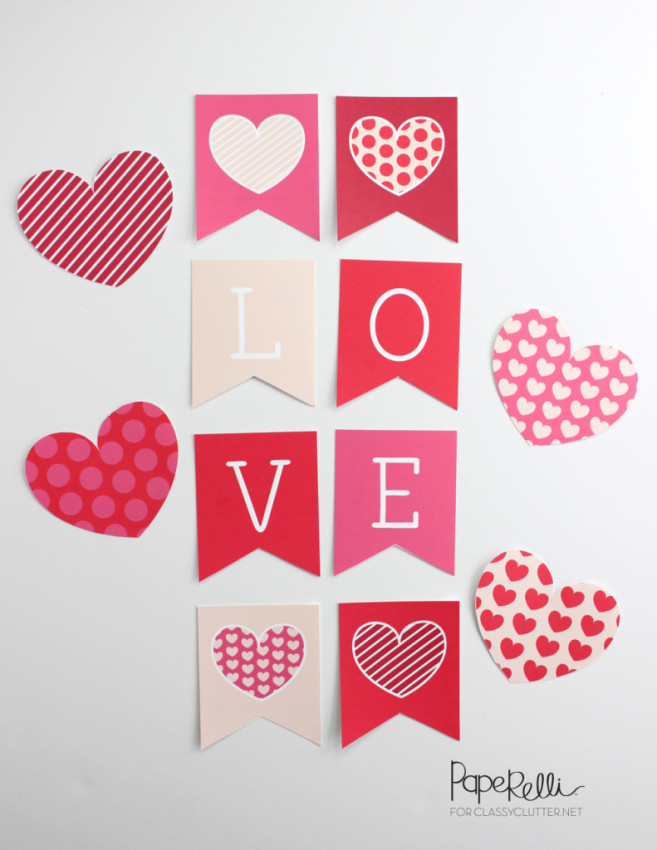 image regarding Valentine Banner Printable identified as Freebie Friday: 28 Absolutely free Valentines Printable Banners - The
