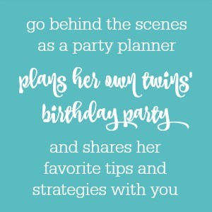 Planning My Twins' Birthday Party: Behind the Scenes with The Party Teacher (part 3)