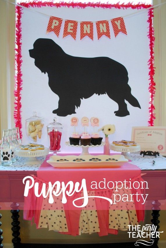 Puppy Adoption Party by The Party Teacher - 22