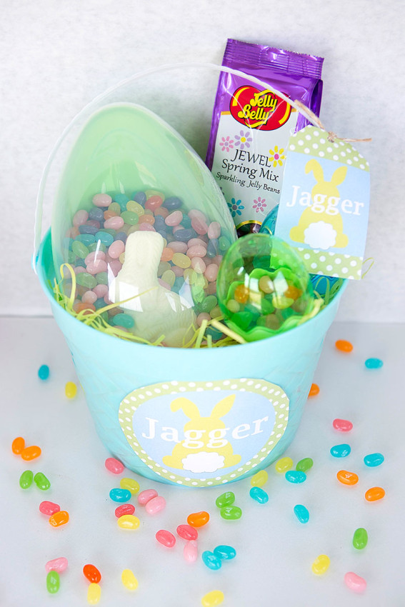 Easter-Basket free printables by Lillian Hope Designs
