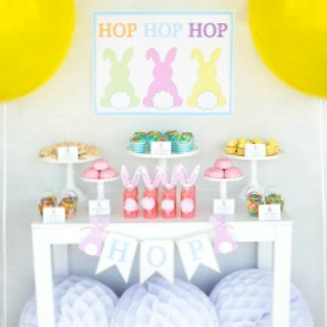 Guest Party: Bunny Tail-Filled Easter Party for Kids