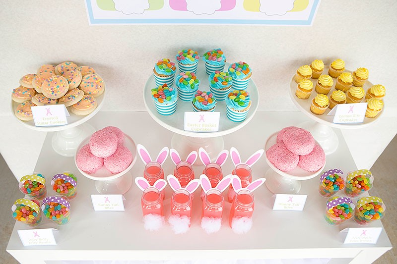 easter-egg-hunt-desserts by Lillian Hope Designs