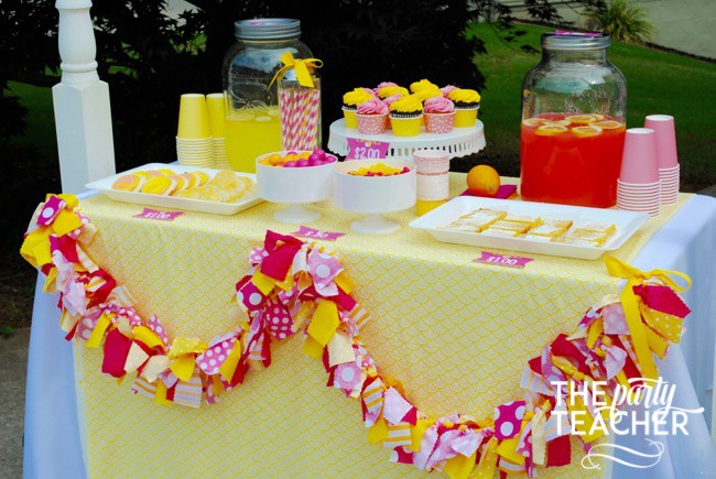 Pink Lemonade Stand by The Party Teacher - 8