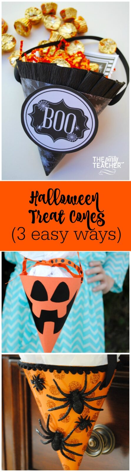halloween-treat-cones-3-easy-ways-by-the-party-teacher