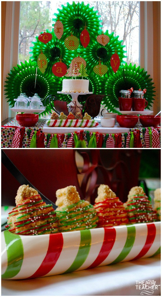 christmas-crafting-party-dessert-table-by-the-party-teacher