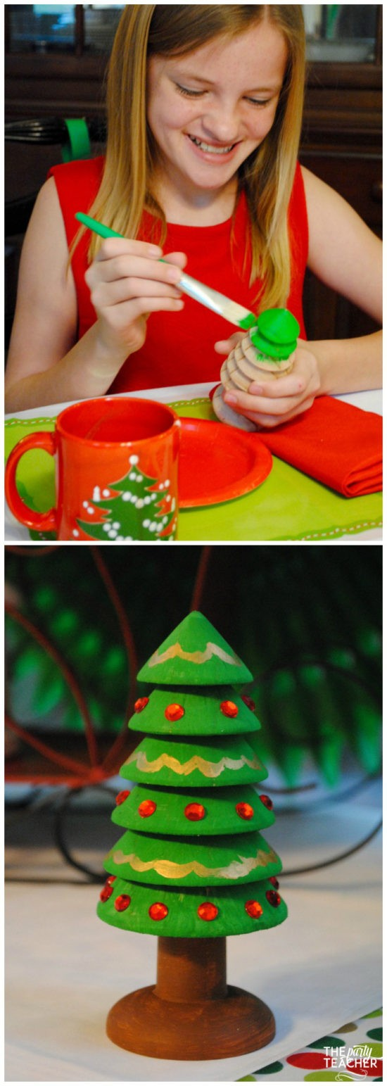christmas-crafting-party-wood-tree-by-the-party-teacher