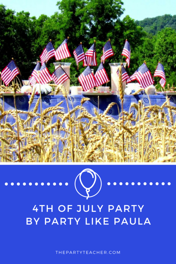 4th of July Party by Party Like Paula featured on The Party Teacher