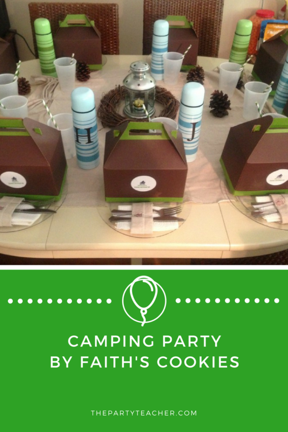 Camping Party by Faith's Cookies featured on The Party Teacher