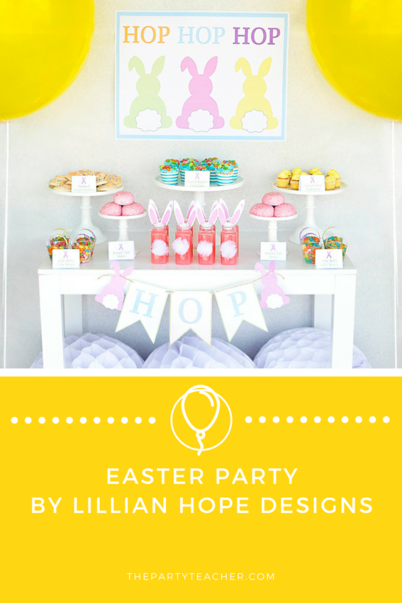 Easter Party by Lillian Hope Designs featured on The Party Teacher