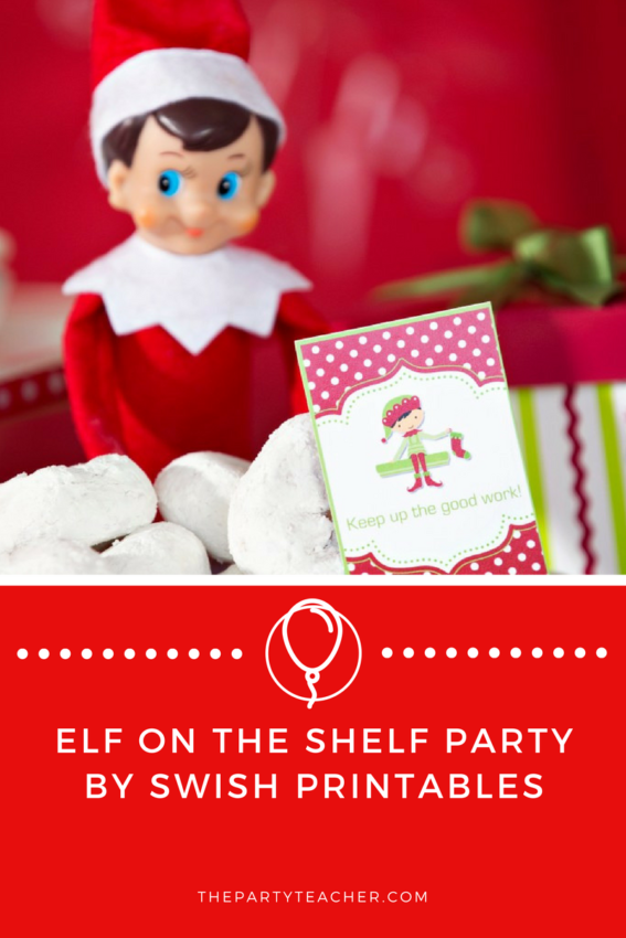 Elf on the Shelf Party by Swish Printables featured on The Party Teacher