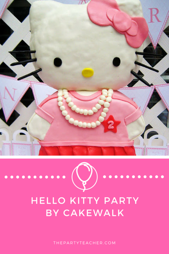 Hello Kitty Party by Cakewalk featured on The Party Teacher