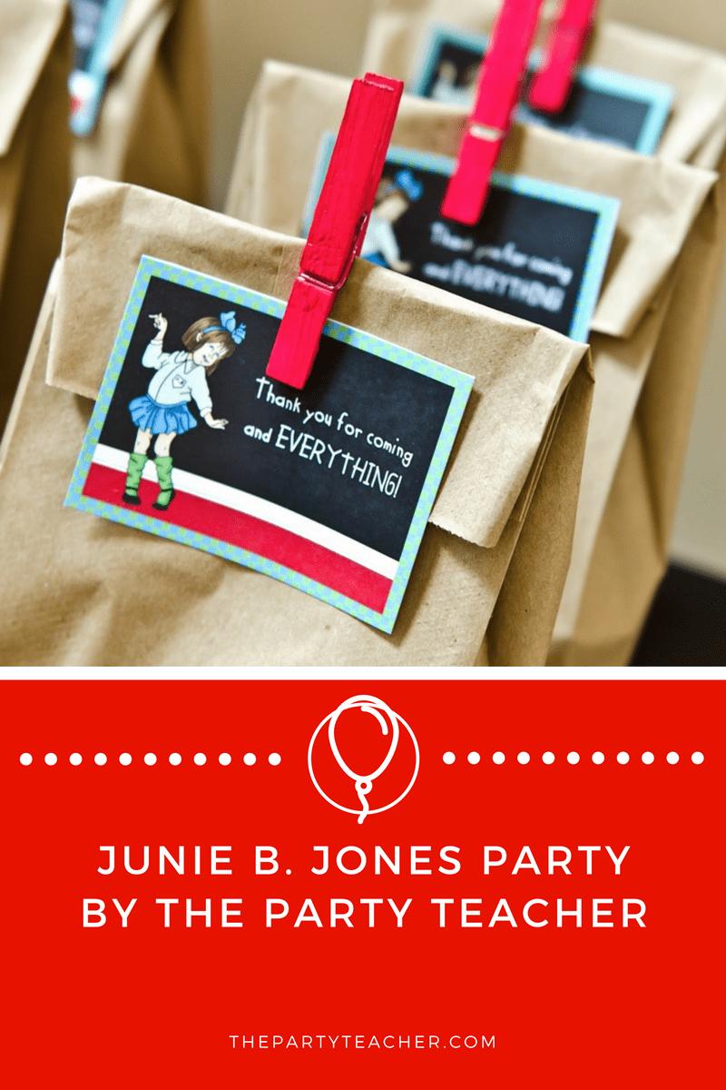 Junie B Jones Party