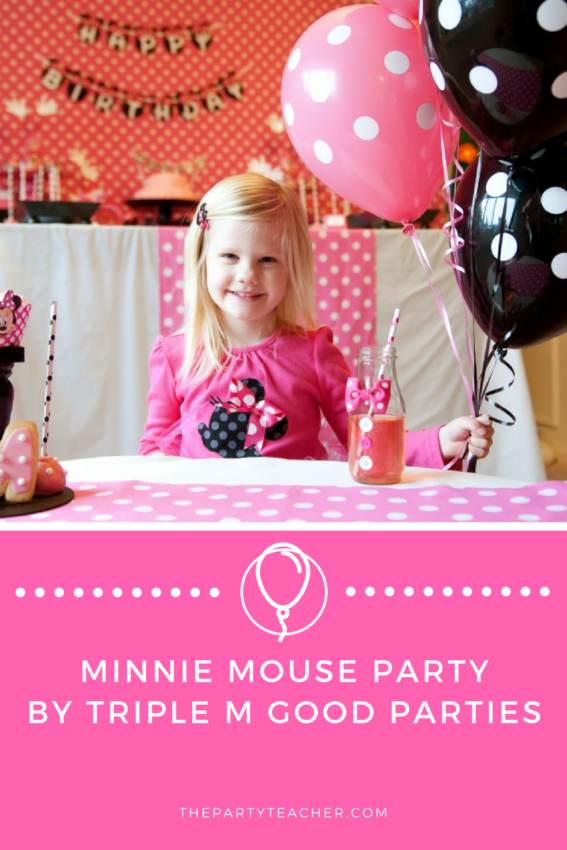 Minnie Mouse Party by Triple M Good Parties featured on The Party Teacher