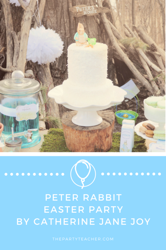 Peter Rabbit Easter Party by Catherine Jane Joy featured on The Party Teacher