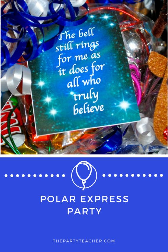 Polar Express Party featured on The Party Teacher