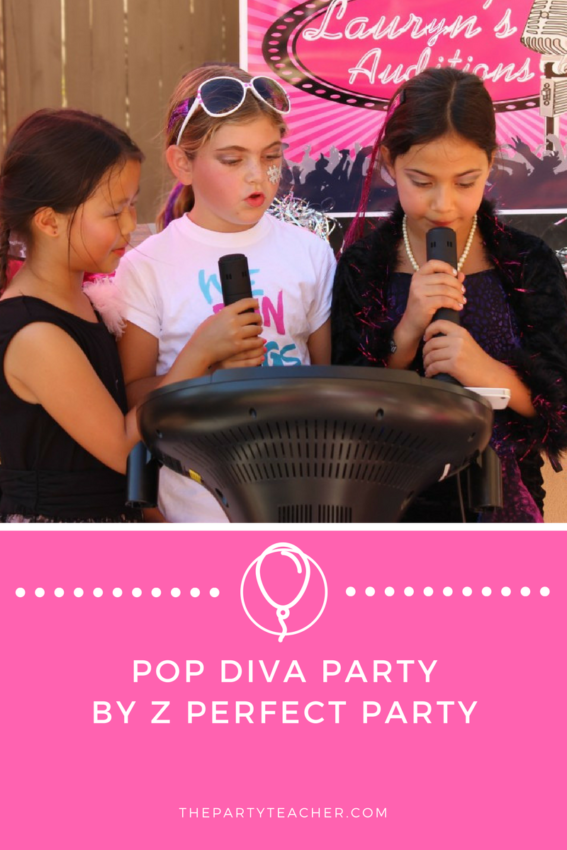 Pop Diva Party by Z Perfect Party featured on The Party Teacher