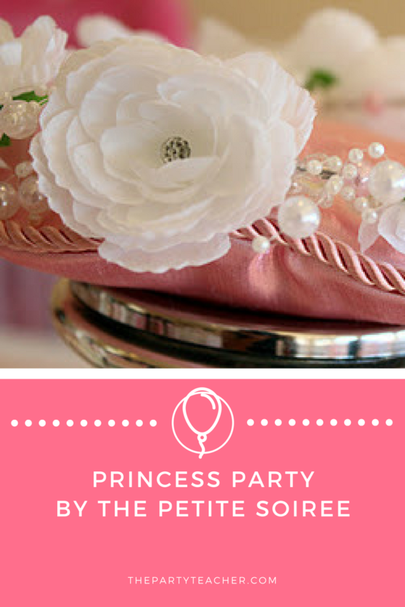 Princess First Birthday Party by The Petite Soiree featured on The Party Teacher