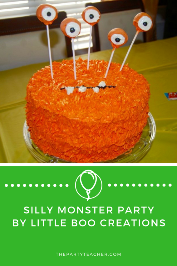 Silly Monster Party by Little Boo Creations featured on The Party Teacher