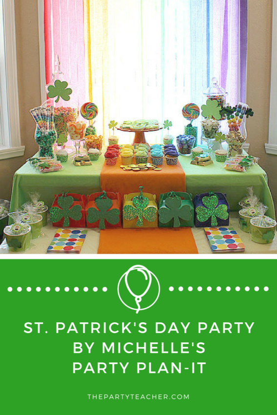 St Patricks Day Party by Michelles Party Plan-It featured on The Party Teacher