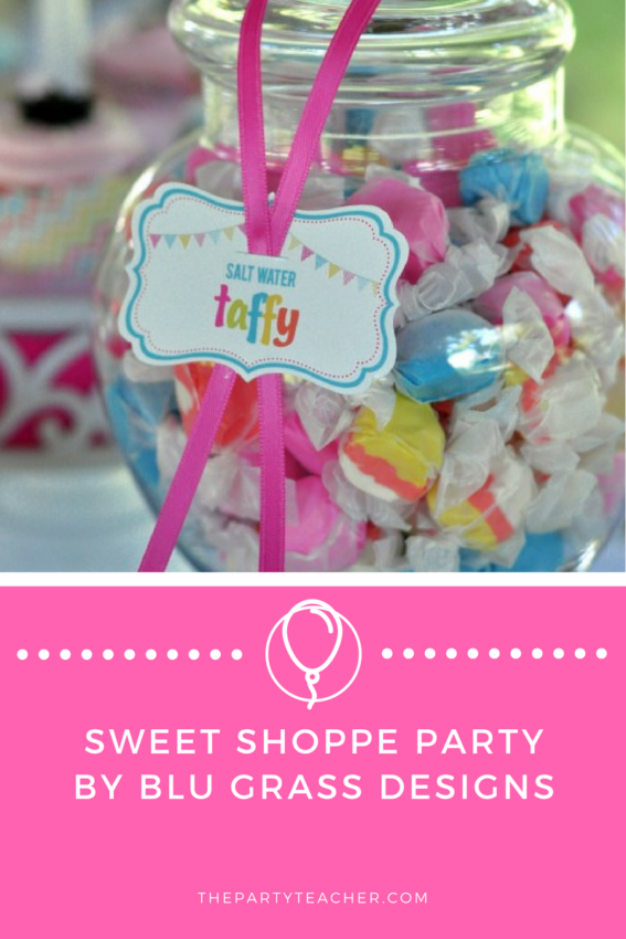 Sweet Shoppe Party by BluGrass Designs featured on The Party Teacher