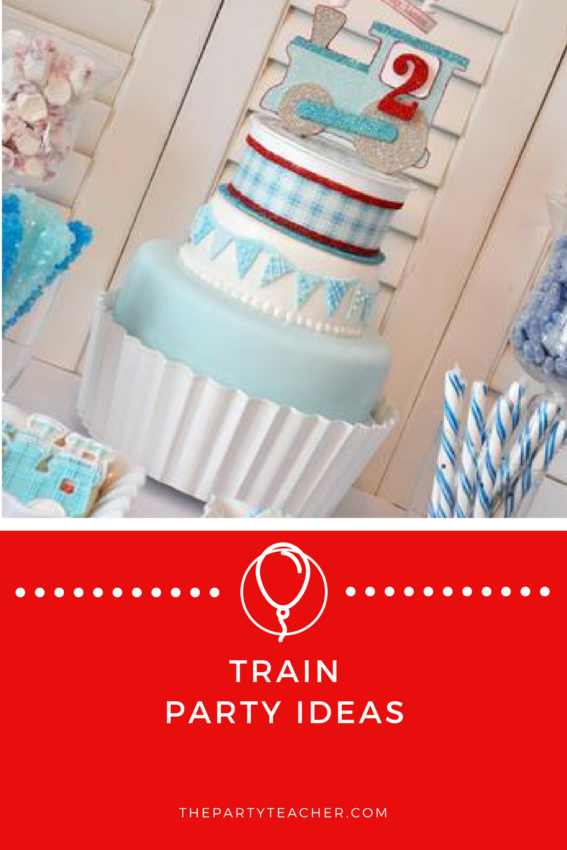 Train Party Ideas featured on The Party Teacher