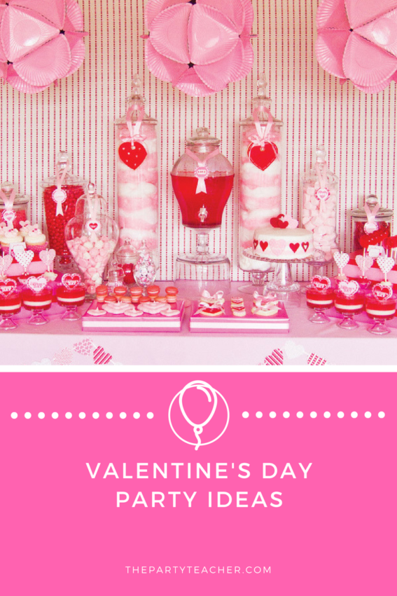 Valentine's Day Party Ideas featured on The Party Teacher