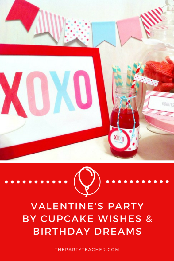 Valentine's Day Party by Cupcake Wishses & Birthday Dreams featured on The Party Teacher