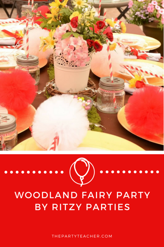 Woodland Fairy Party by Ritzy Parties featured on The Party Teacher