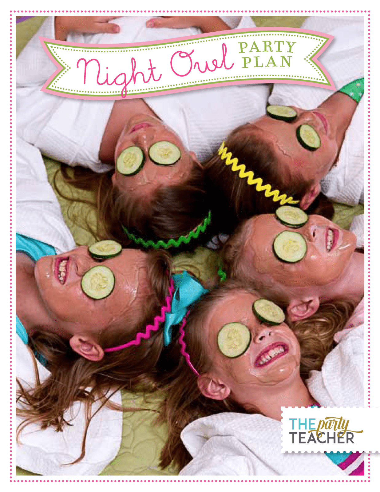 Night Owl Sleepover Party Plan