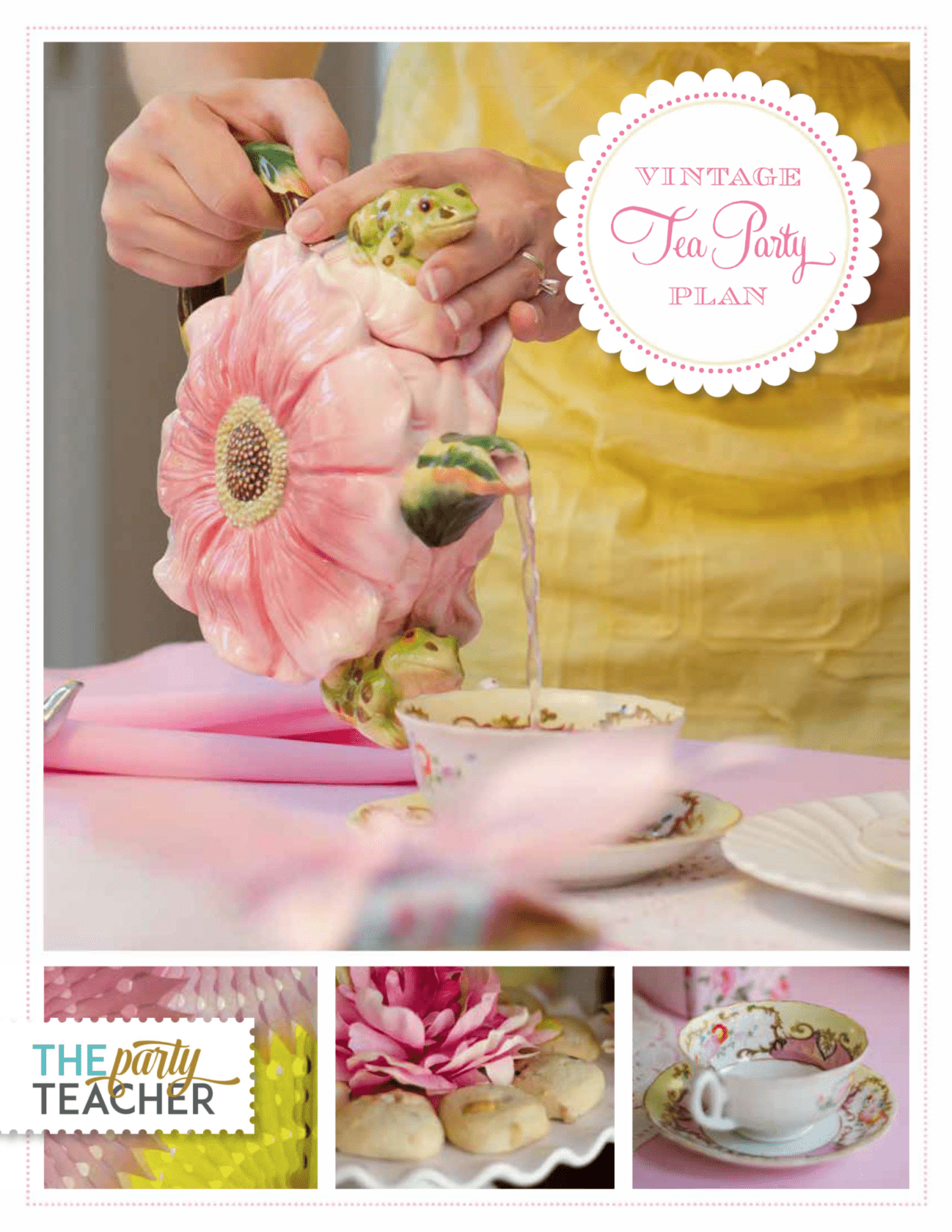 Vintage Tea Party Plan