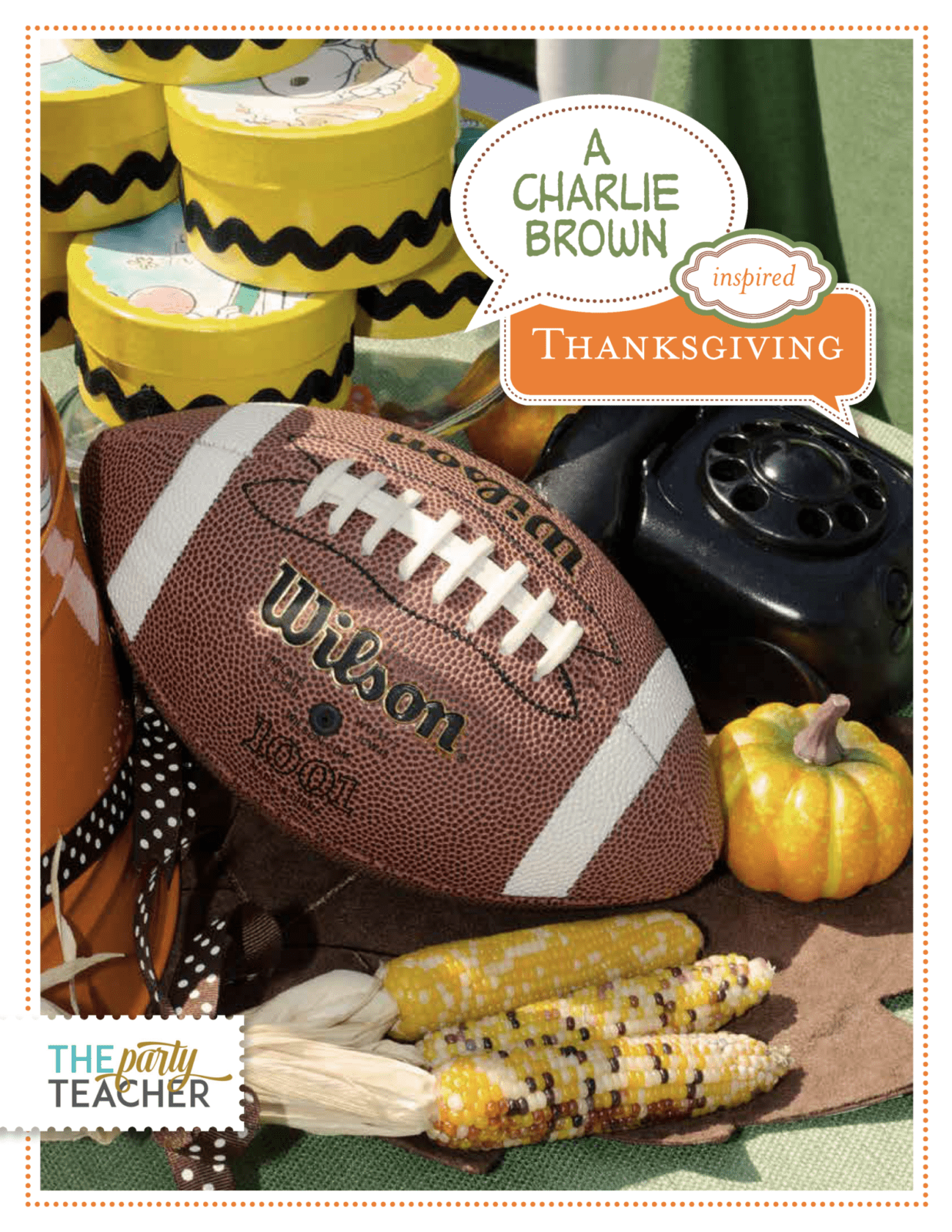 Charlie Brown Thanksgiving Party Plan