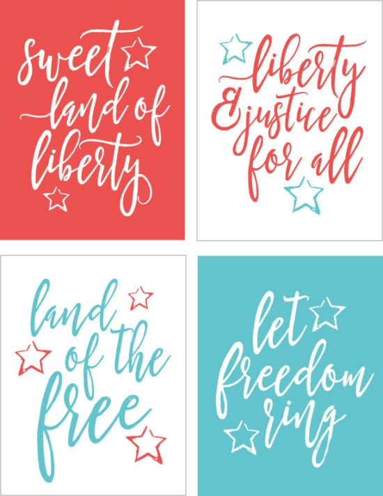 freebie friday 25 4th of july free party printables the. Black Bedroom Furniture Sets. Home Design Ideas