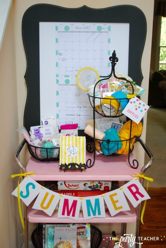 8 weeks of summer fun ideas by The Party Teacher - play games