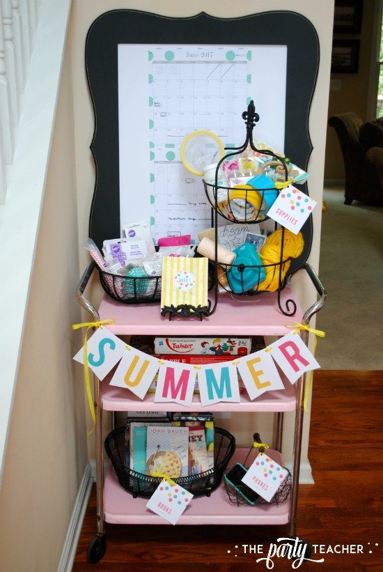 8 weeks of summer fun ideas by The Party Teacher - 17
